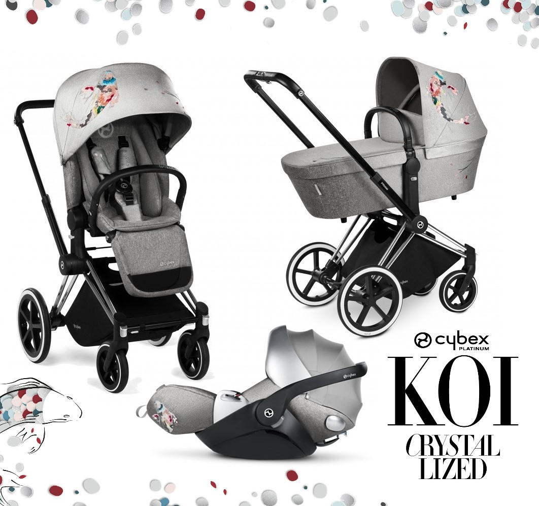 SET 3v1 CYBEX PRIAM FASHION KOI 2018