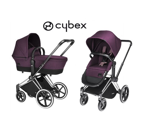 SET CYBEX PRIAM SEAT 2v1 PRINCESS PINK