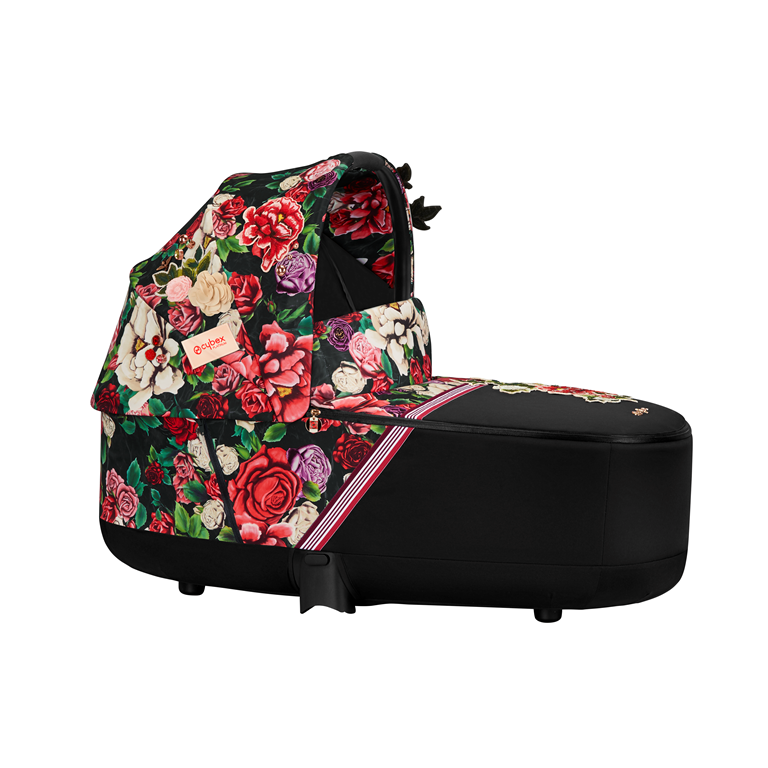Cybex Priam Lux Carry Cot FASHION Spring Blossom Dark 2021