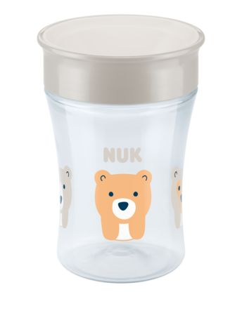 NUK Magic Cup s víčkem, Bílý