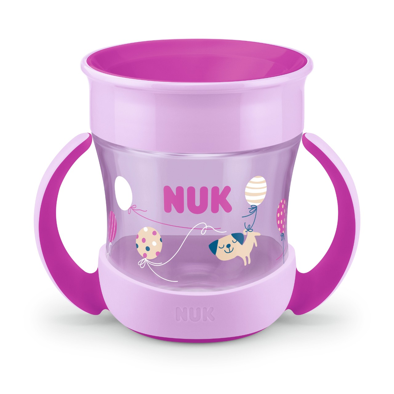 NUK Mini Magic Cup, Růžový