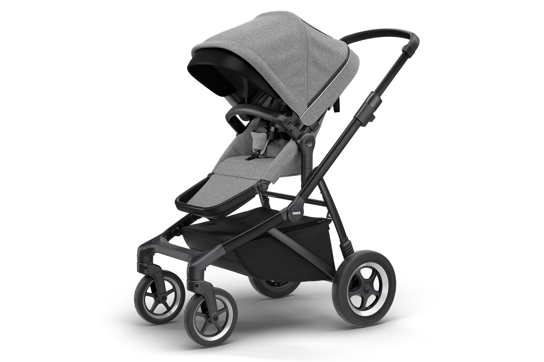 THULE Thule Sleek Grey Melange on Black 2020